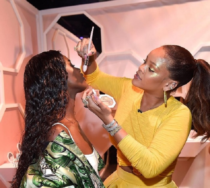 Rihanna Fenty beauty launched