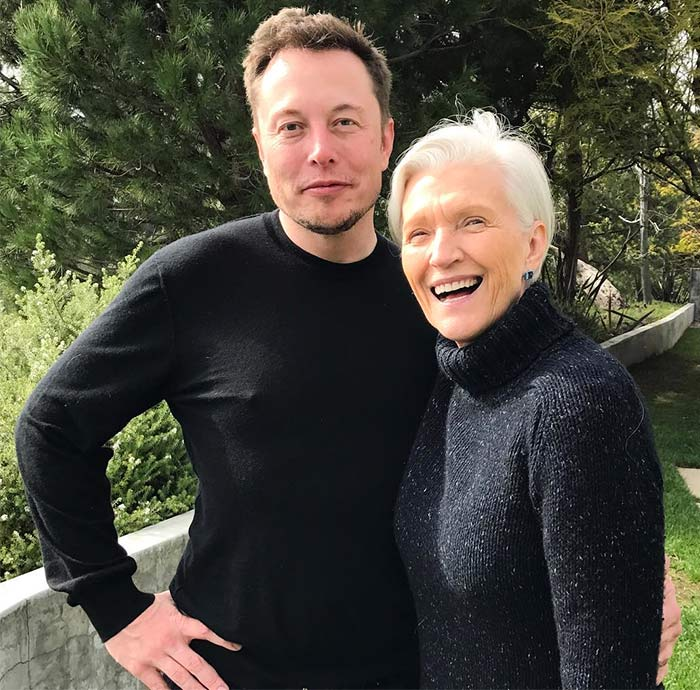 Runway goddess at 69, and Elon Musk's mom! - Rediff com Get