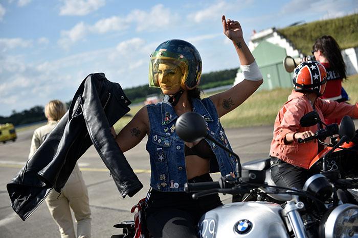 Pics Meet The Daredevil Women Bikers Of Germany Rediff