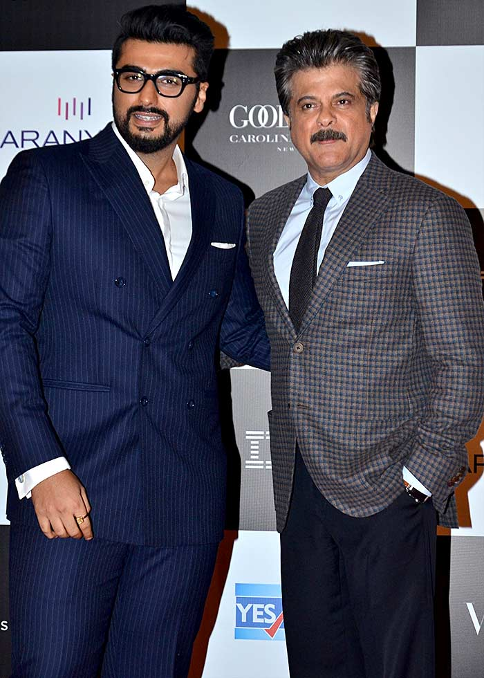 Arjun Kapoor and Anil Kapoor Vogue women of the Year awards
