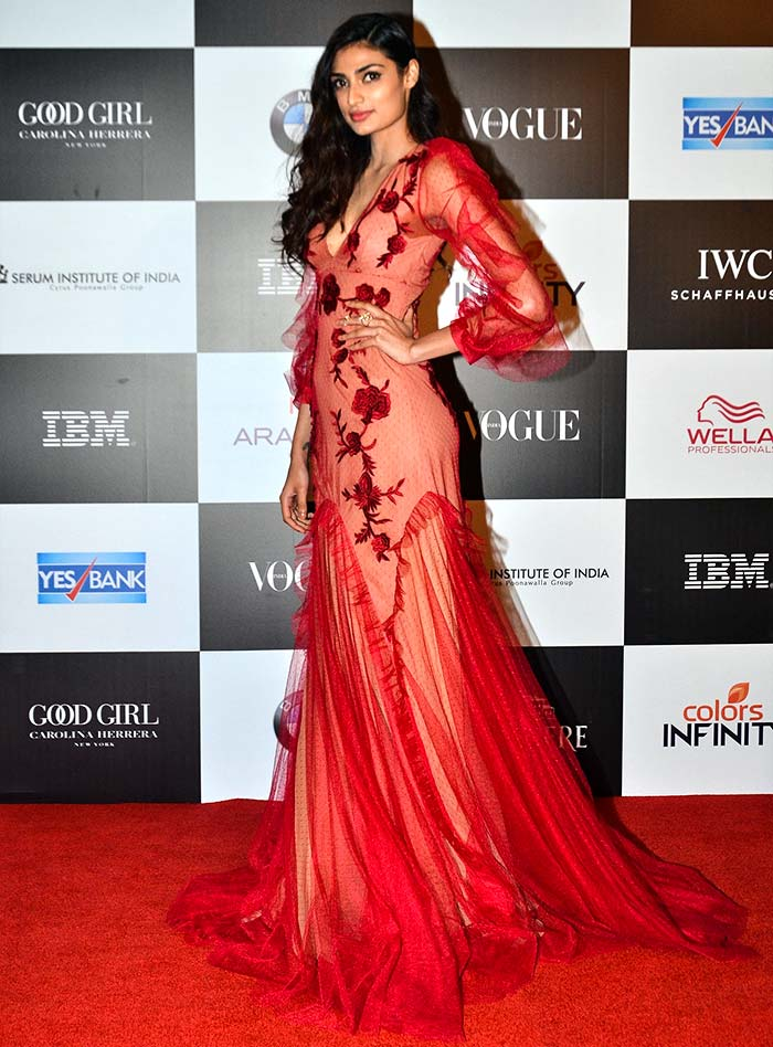 Athiya Shetty Vogue women of the Year awards