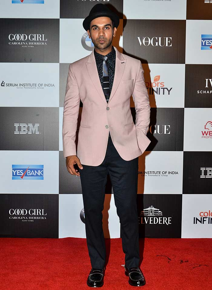 Rajkumar Rao Vogue women of the Year awards