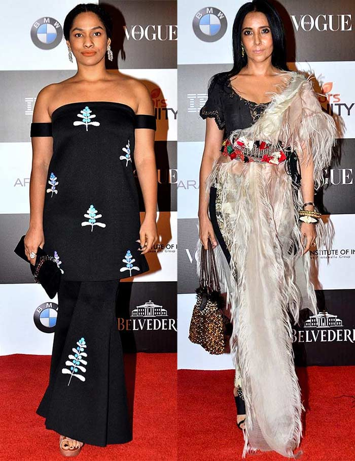 Masaba and Anamika KhannaVogue women of the Year awards