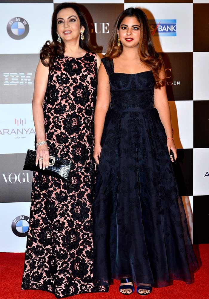 Nita Ambani Isha Ambani Vogue women of the Year awards