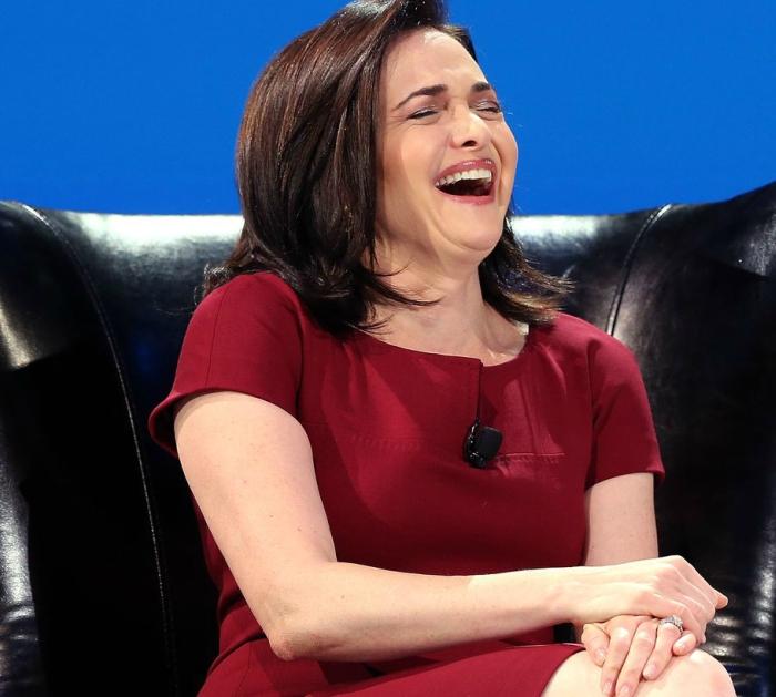 Sheryl Sandberg  &  her power cupcakes