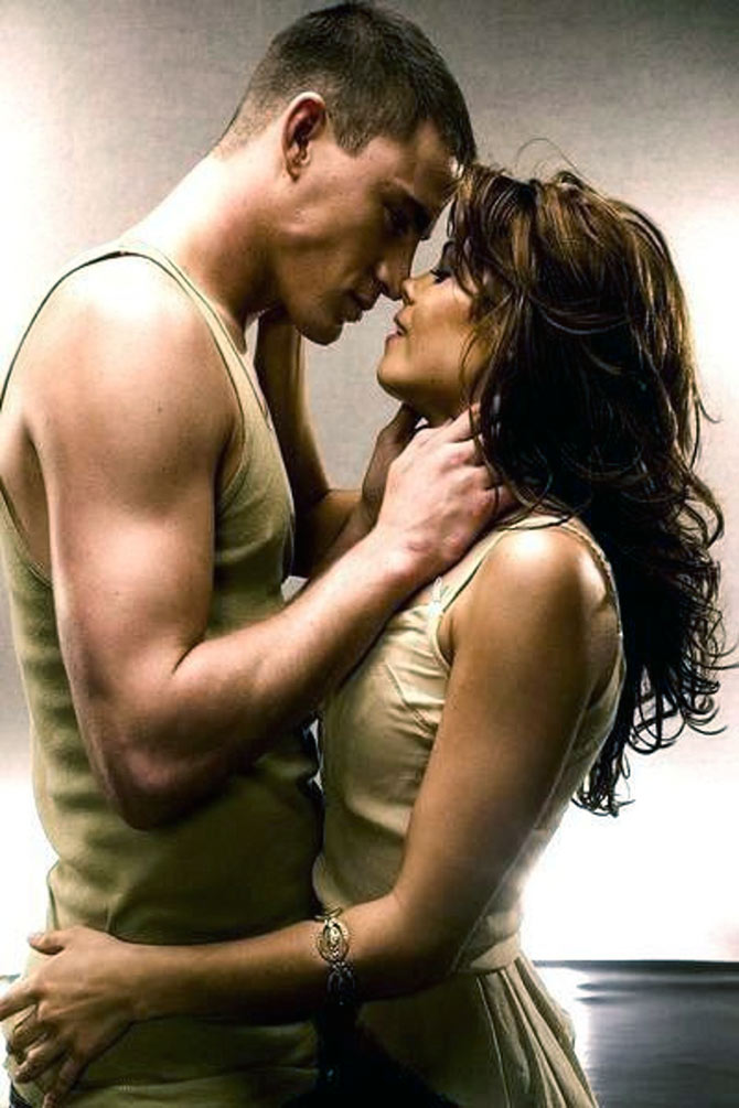 Channing Tatum and Jeena Dewan