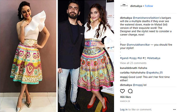 DietSabya is shaming Indian designers for ripping off designs