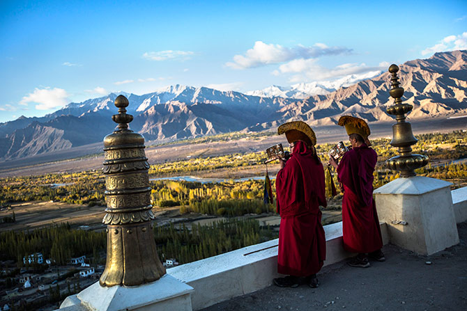 Thikse monastery