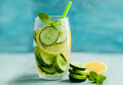 Summer Recipe: How to make Cucumber Mint Cooler
