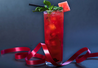 Recipe: How to make Watermelon Basil cooler