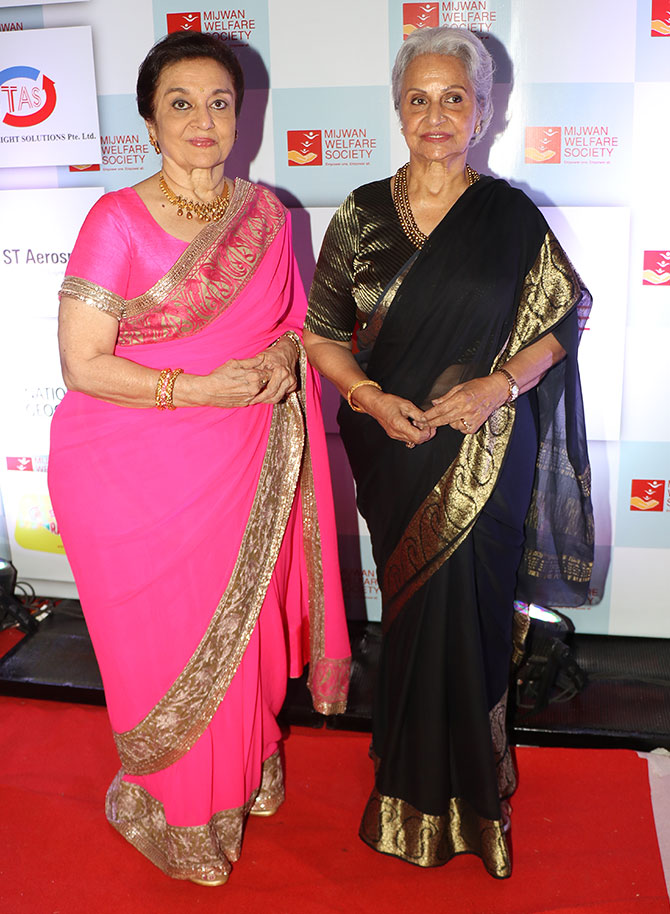 Asha Parekh and Waheeda Rehman