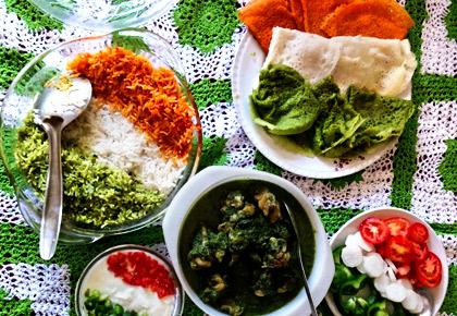 Photos: My tricolour meal