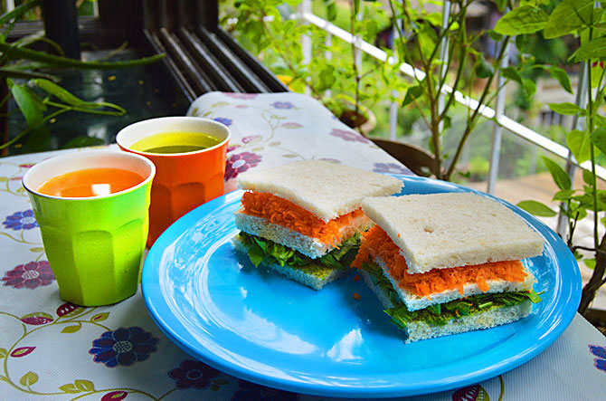 Share your tricolour recipes! We'll publish it for you