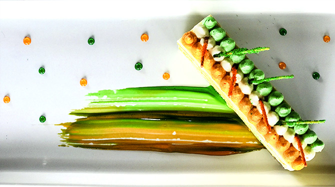 #I-DayEats: How to make a Tricolour Opera Pastry
