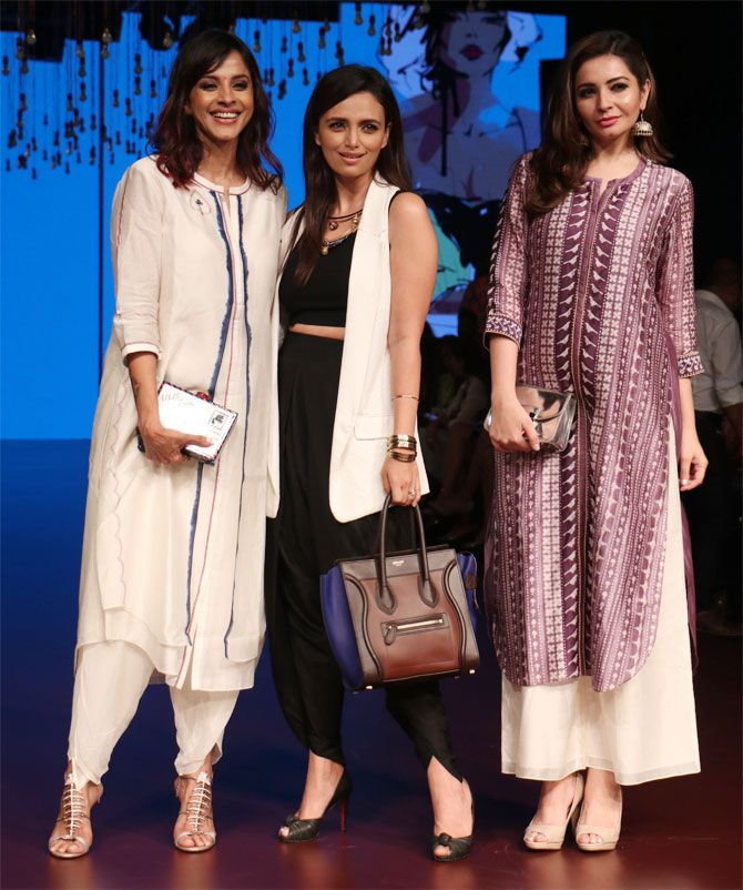 Manasi Scott, Roshini Chopra and Shonali Nagrani