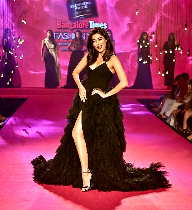 IN PIX: Chitrangada's boldest ramp appearance yet