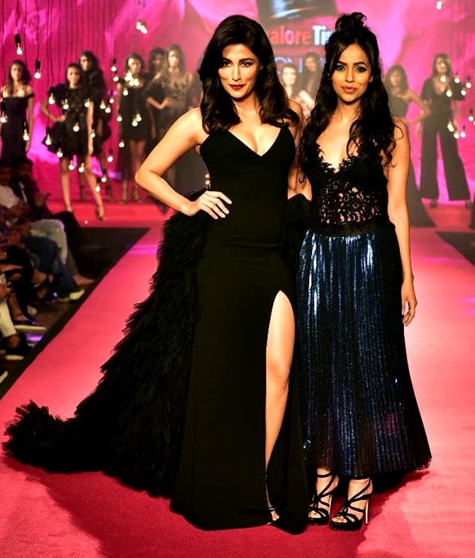 Chitrangada Singh walks for Gauri and Nainika