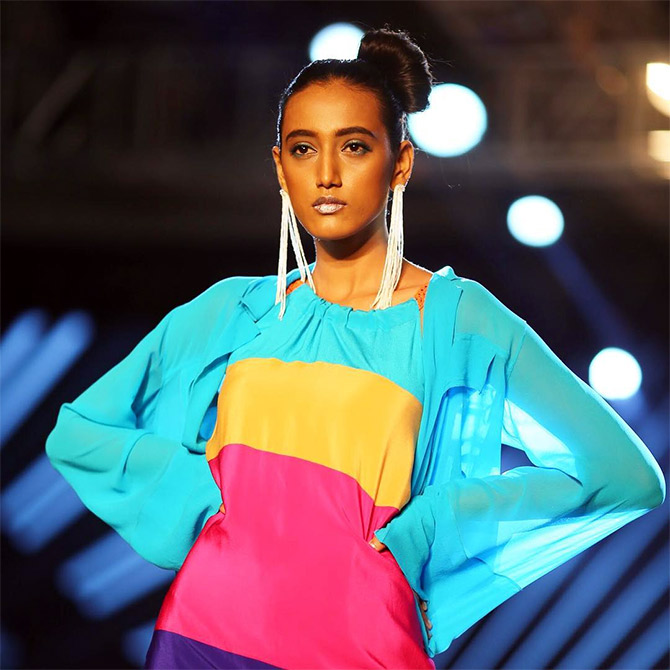 Wendell Rodricks presents The Rainbow Warriors collection at Bangalore Times Fashion Week