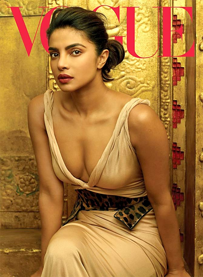 Priyanka on Vogue