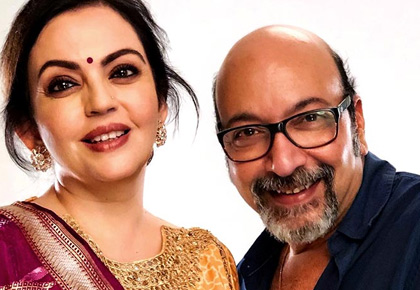 Latest News from India - Get Ahead - Careers, Health and Fitness, Personal Finance Headlines - The man behind Nita Ambani's flawless make up