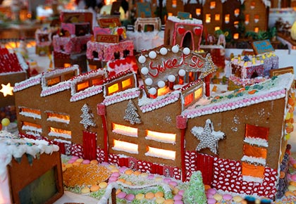 Latest News from India - Get Ahead - Careers, Health and Fitness, Personal Finance Headlines - Photos! A delicious looking gingerbread city