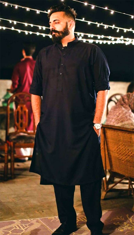 Rizwan Pehelwan on his wedding day
