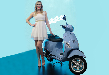 Auto Expo exclusive: The 1940s Vespa just got a millenial upgrade!