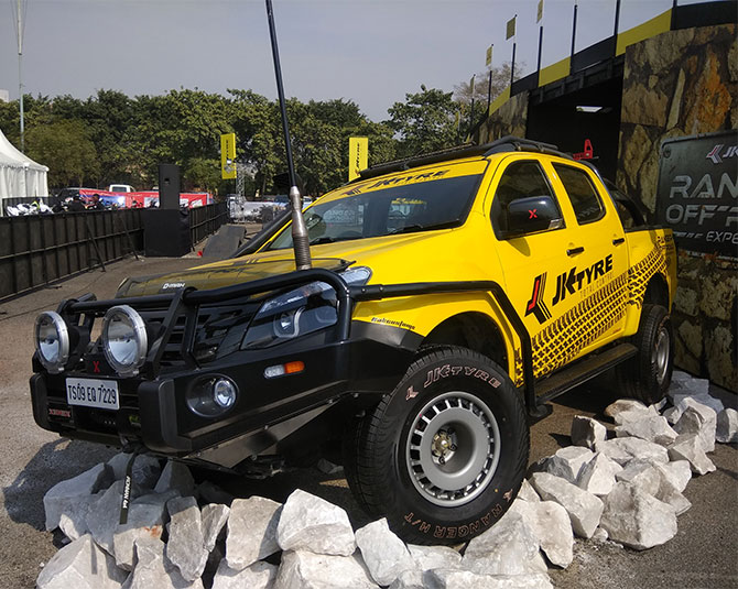 Off-road vehicle Auto expo 2018