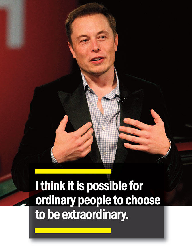 Instainspiration How To Be As Extraordinary As Elon Musk Rediff