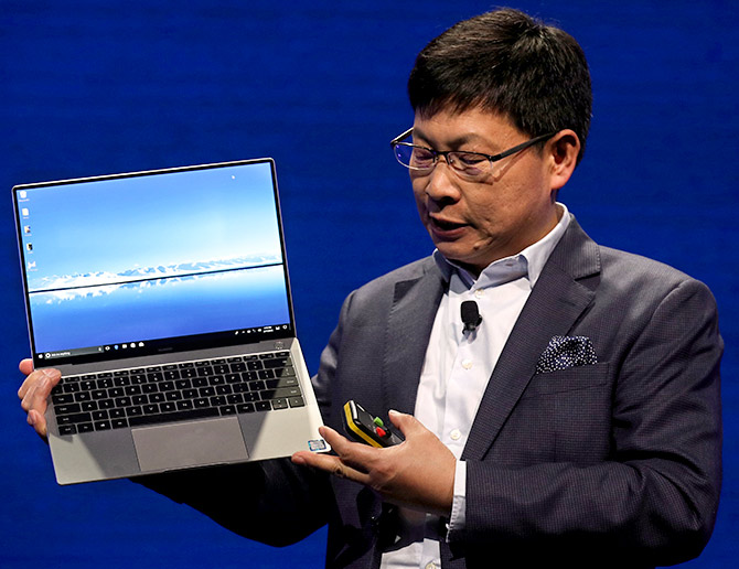 Whoa! Huawei MateBook X Pro brings borderless display to laptops