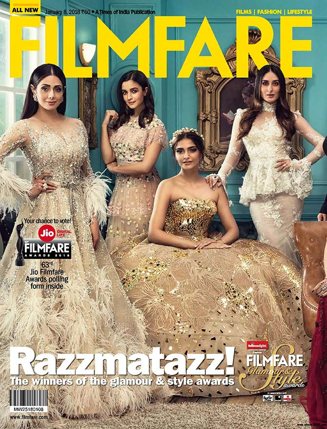 Image result for filmfare covers 2019 women""