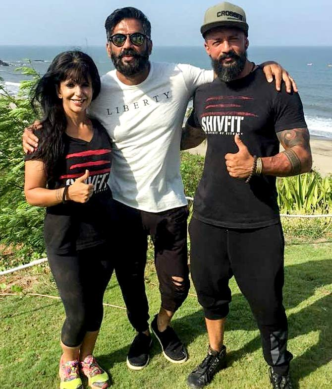Shivoham with Vrinda Mehta and Sunil Shetty