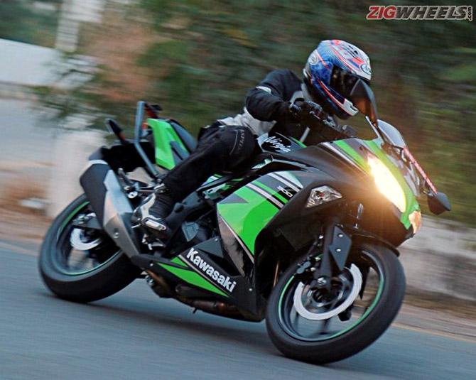 This Kawasaki Ninja is a good all-rounder    - Rediff com