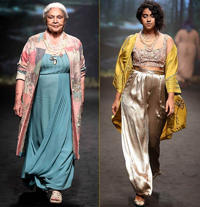 Half Full Curve Lakme Fashion Week