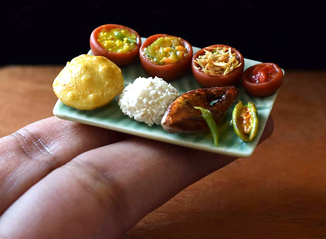 Drool! These food miniatures will brighten your day