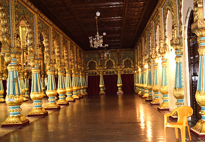Pix: Inside the magnificent Mysore palace