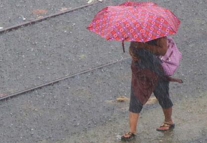 #MonsoonPics: A rainy day in Mumbai