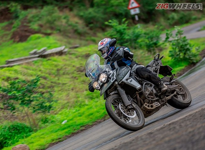 Road Test Review The 2018 Triumph Tiger 800 Xcx Rediffcom Get Ahead