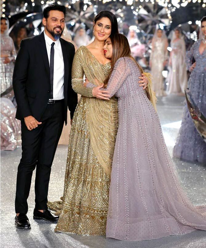Kareena Kapoor walks for Falguni and Shane Peacock at India Couture Week 2018