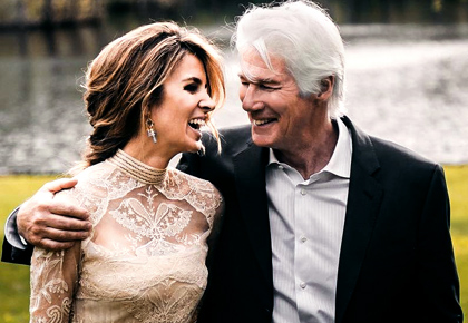 Richard Gere's Indian-inspired fairy tale wedding