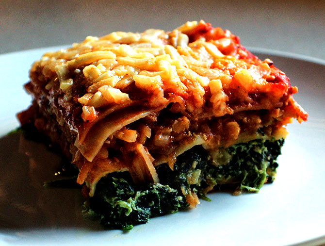 Recipes: Murg Dhansak and Lentil and Spinach Lasagna
