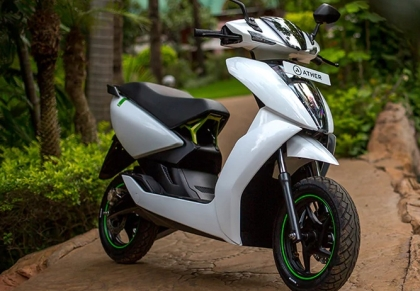 Ather 450: An electric scooter that's super-cool