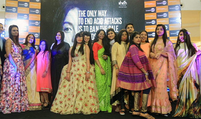 acid attack survivors