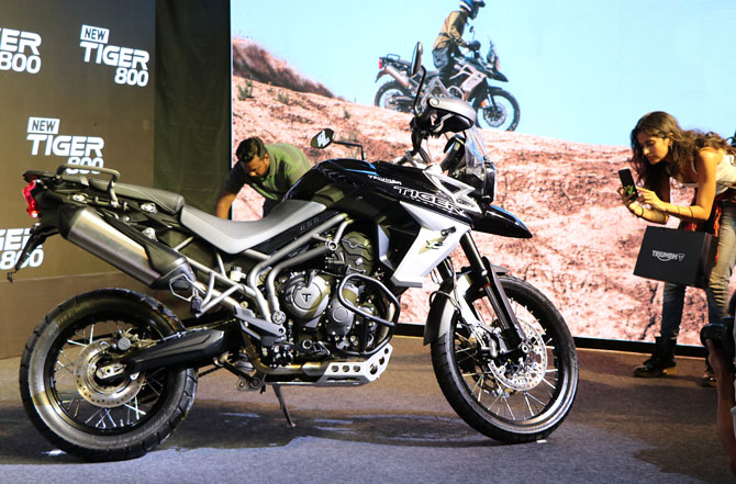 Triumph Tiger 800 bike launch