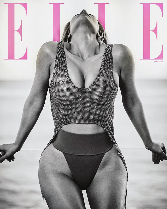 Elle mag cover
