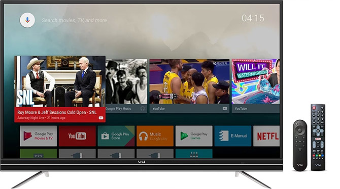 A pure Android TV experience at a killer price