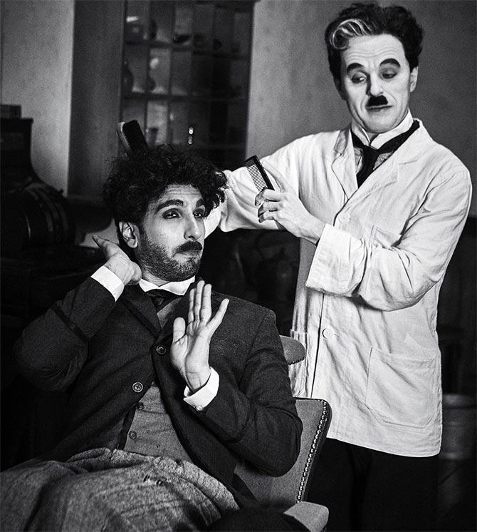 Ranveer Singh's tribute to Charlie Chaplin is now viral - Rediff ...