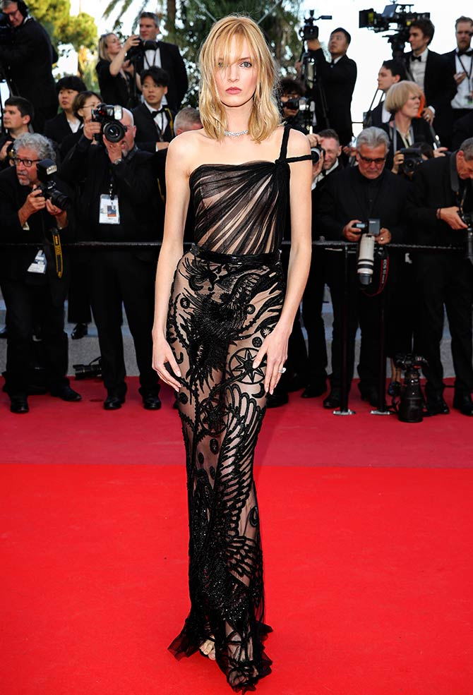 Daria Strokous at Cannes