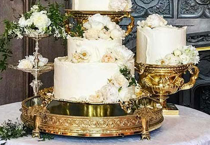 Photos! What went into making the royal wedding cake