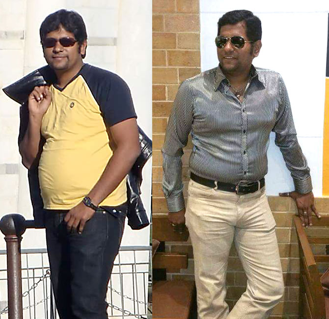 How Krishna Kumar lost weight